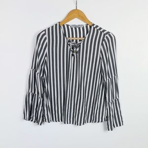 MARC NEW YORK striped top size M